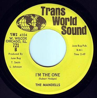 MANDELLS - I'M THE ONE - TRANS WORLD