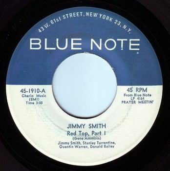 JIMMY SMITH - RED TOP - BLUE NOTE