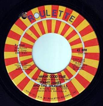 TOMMY JAMES - MAKIN' GOOD TIME - ROULETTE