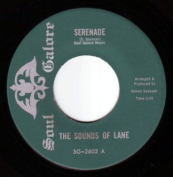 SOUNDS OF LANE - SERENADE - SOUL GALORE