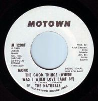 NATURALS - THE GOOD THINGS - MOTOWN DEMO