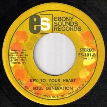 SOUL GENERATION - KEY TO YOUR HEART - EBONY SOUNDS