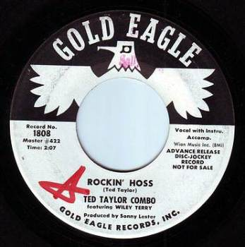 TED TAYLOR COMBO - ROCKIN' HOSS - GOLD EAGLE DEMO