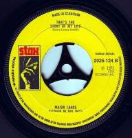MAJOR LANCE - THAT'S THE STORY OF MY LIFE - STAX