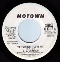 G.C. CAMERON - IF YOU DON'T LOVE ME - MOTOWN DEMO
