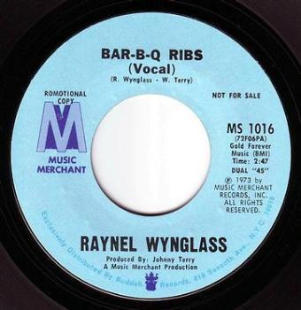 RAYNEL WYNGLASS - BAR-B-Q RIBS - MUSIC MERCHANT DEMO