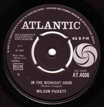 WILSON PICKETT - IN THE MIDNIGHT HOUR - ATLANTIC
