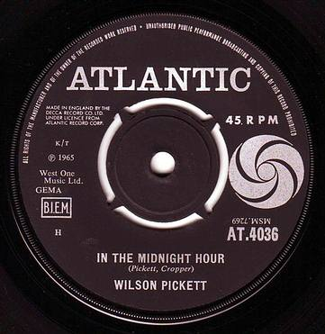 WILSON PICKETT - IN THE MIDNIGHT HOUR - ATLANTIC