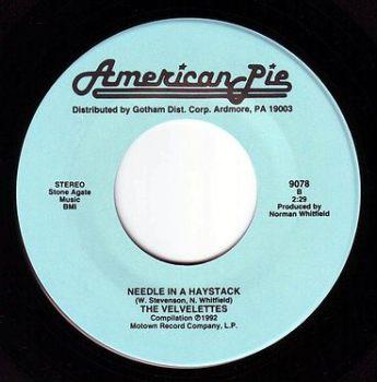 VELVELETTES - NEEDLE IN A HAYSTACK - AMERICAN PIE