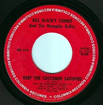 BILL BLACKS COMBO - KEEP THE CUSTOMER SATISFIED - COLUMBIA