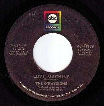 O'KAYSIONS - LOVE MACHINE - ABC
