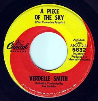 VERDELLE SMITH - A PIECE OF THE SKY - CAPITOL