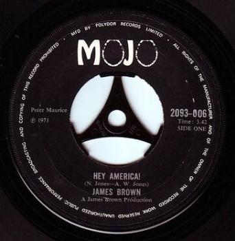 JAMES BROWN - HEY AMERICA - MOJO