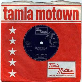 FOUR TOPS - I GOT A FEELING - TMG 601