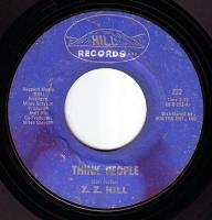 Z.Z. HILL - THINK PEOPLE - HILL