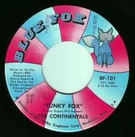 CONTINENTALS - FUNKY FOX - BLUE FOX