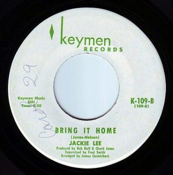 JACKIE LEE - BRING IT HOME - KEYMEN