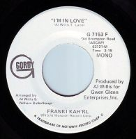 FRANKIE KAH'RL - I'M IN LOVE - GORDY DEMO