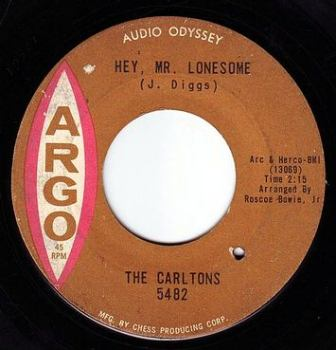 CARLTONS - HEY, MR. LONESOME - ARGO