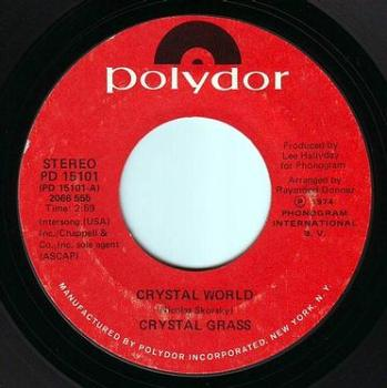 CRYSTAL GRASS - CRYSTAL WORLD - POLYDOR