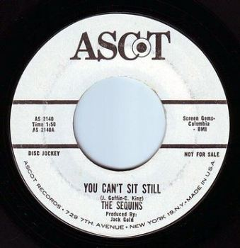 SEQUINS - YOU CAN'T SIT STILL - ASCOT DEMO