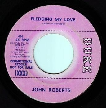 JOHN ROBERTS - PLEDGING MY LOVE - DUKE DEMO