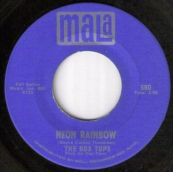 BOX TOPS - NEON RAINBOW - MALA