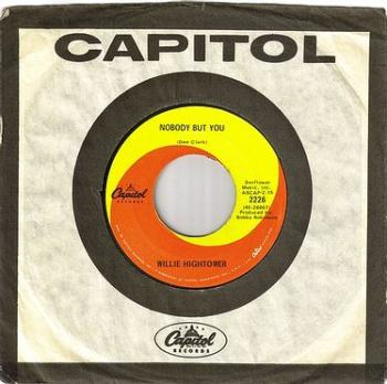WILLIE HIGHTOWER - NOBODY BUT YOU - CAPITOL