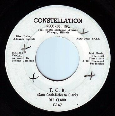 DEE CLARK - T.C.B. - CONSTELLATION DEMO
