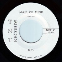 BETTY WRIGHT - MAN OF MINE - TNT