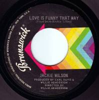 JACKIE WILSON - LOVE IS FUNNY THAT WAY - BRUNSWICK