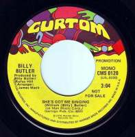 BILLY BUTLER - SHE'S GOT ME SINGING - CURTOM DEMO