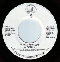 BILLY WELLS - WITHOUT YOUR LOVE - URANUS