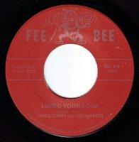 CHUCK CORBY - I NEED YOUR LOVE - FEE BEE