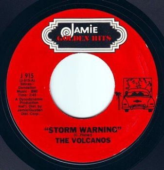 VOLCANOS - STORM WARNING - JAMIE GOLDEN HITS
