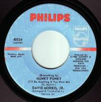 DAVID MORRIS, JR - (EVERYTHING IS) HUNKY FUNKY - PHILIPS