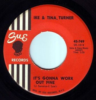 IKE & TINA TURNER - IT'S GONNA WORK OUT FINE - SUE