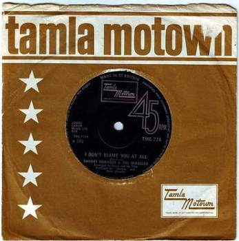 SMOKEY ROBINSON & THE MIRACLES - I DON'T BLAME YOU AT ALL - TMG 774