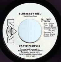 DAVID PEOPLES - BLUEBERRY HILL - MUSICOR DEMO