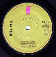 BILLY PAUL - ME & MRS JONES - PIR