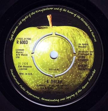 JOHN LENNON - 9 DREAM - APPLE
