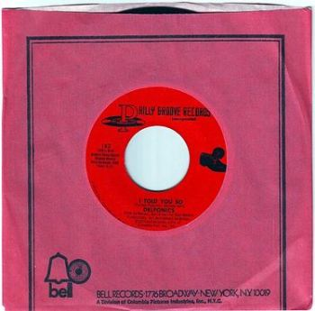 DELFONICS - I TOLD YOU SO - PHILLY GROOVE