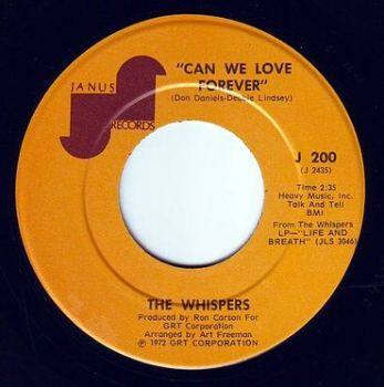 WHISPERS - CAN WE LOVE FOREVER - JANUS