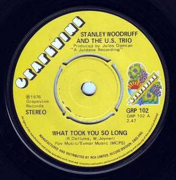 STANLEY WOODRUFF - WHAT TOOK YOU SO LONG - GRAPEVINE