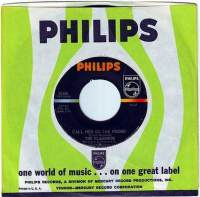 FLAMINGOS - CALL HER ON THE PHONE - PHILIPS