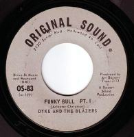DYKE & THE BLAZERS - FUNKY BULL - ORIGINAL SOUND