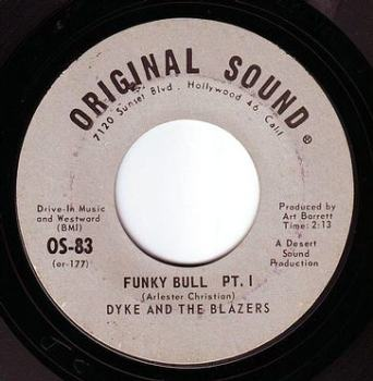 DYKE & THE BLAZERS - FUNKY BULL - ORIGINAL SOUND