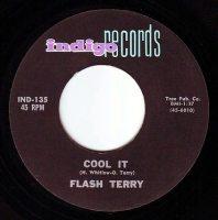 FLASH TERRY - COOL IT - INDIGO