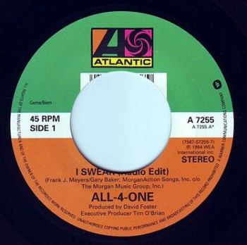 ALL-4-ONE - I SWEAR - ATLANTIC