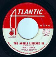 PERCY SLEDGE - THE ANGELS LISTENED IN - ATLANTIC DEMO